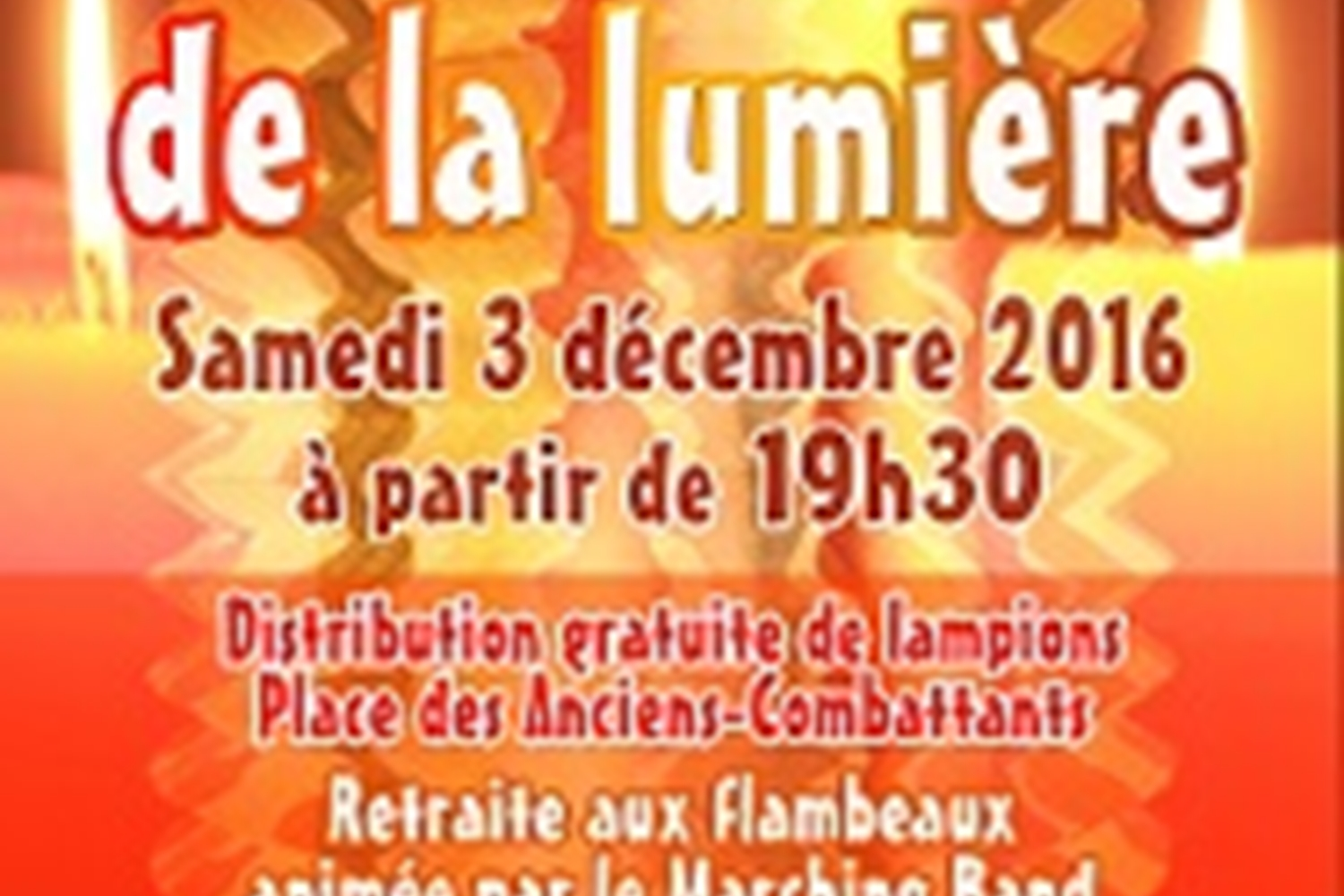 Festival of Light in Mouans Sartoux