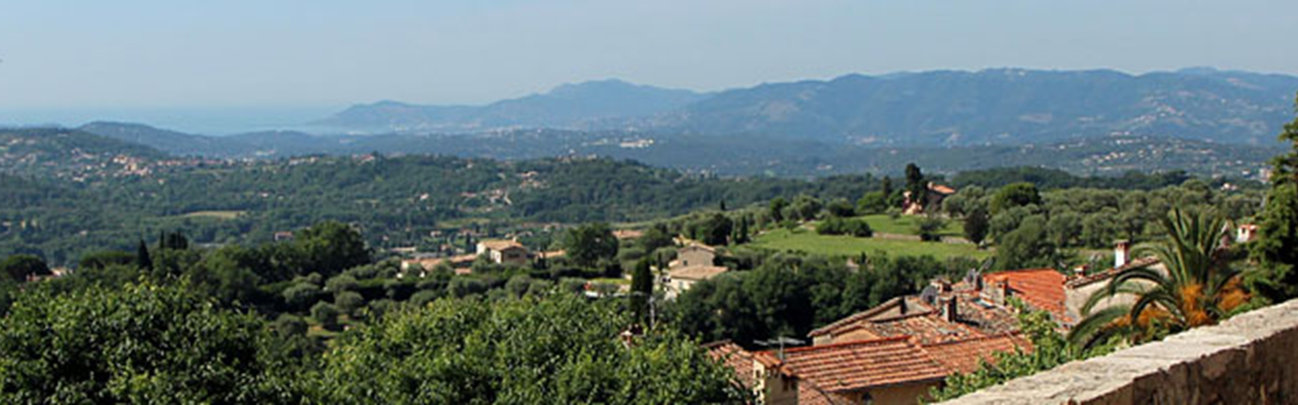 Chateauneuf Grasse View