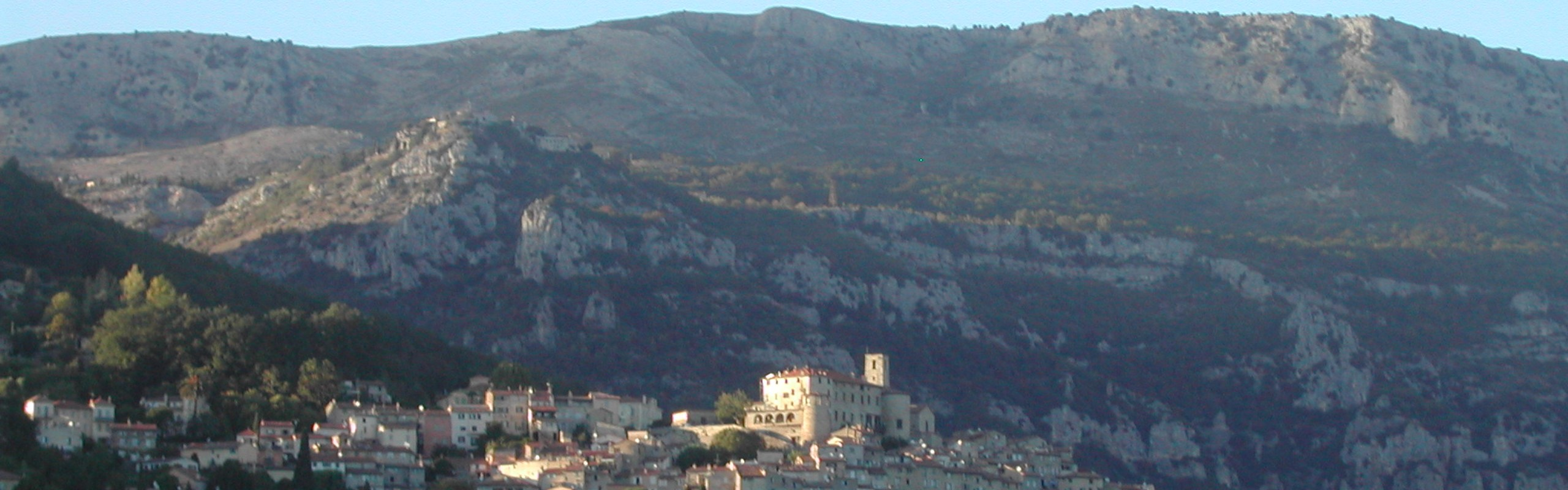 Le Bar Sur Loup At Dawn